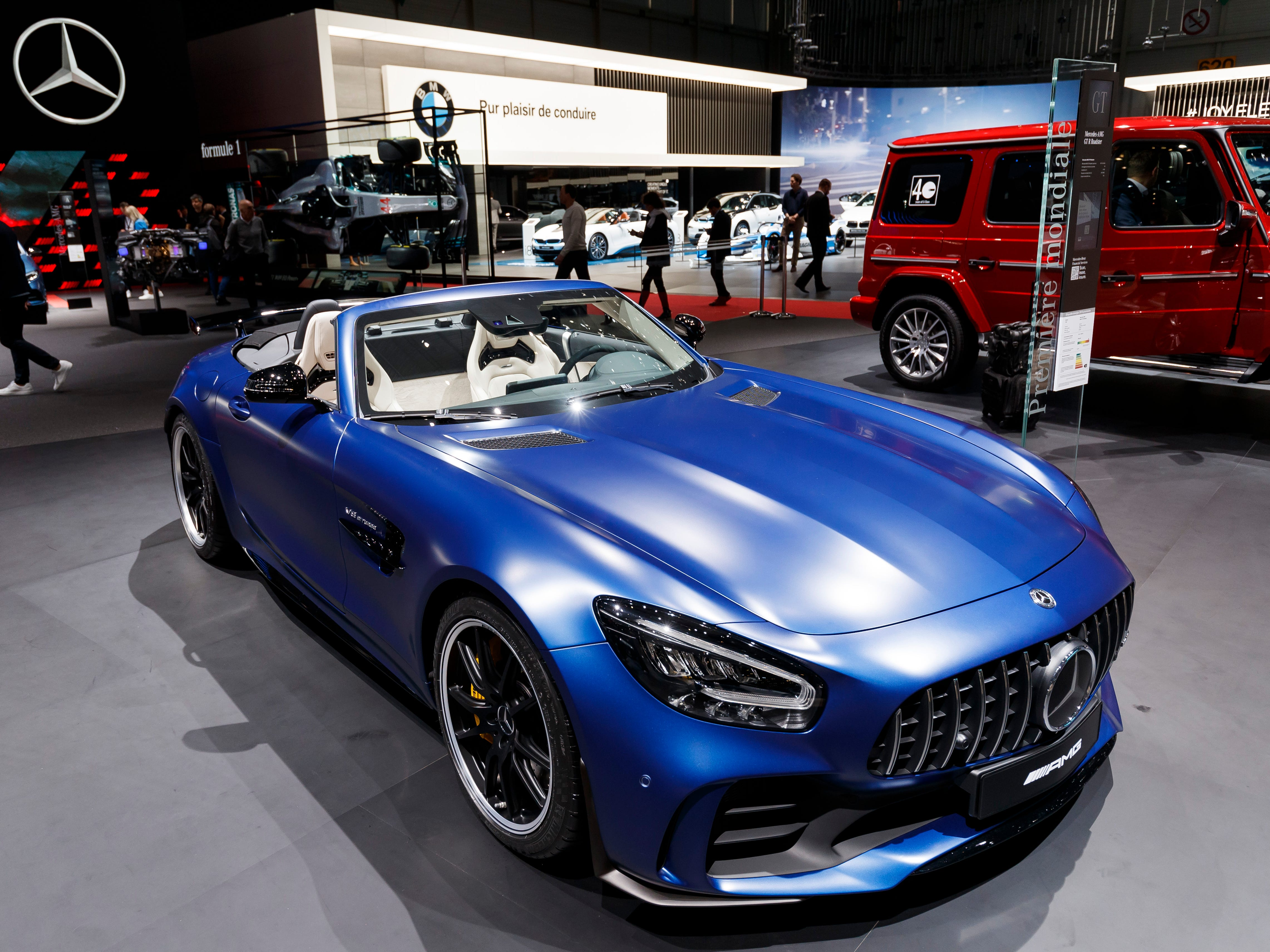 The Mercedes-Benz GT R Roadster
