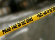 A 47-year-old man suffered a grazed gunshot wound and his passenger, a 36-year-old woman, was shot in the arm.