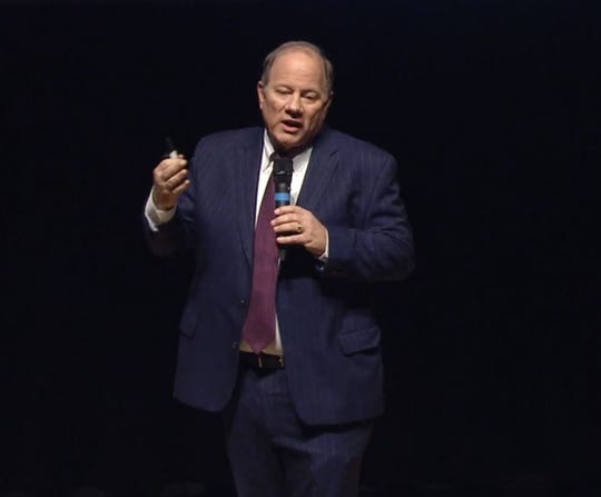Mayor Mike Duggan gives hissixth State of the City address Tuesday night