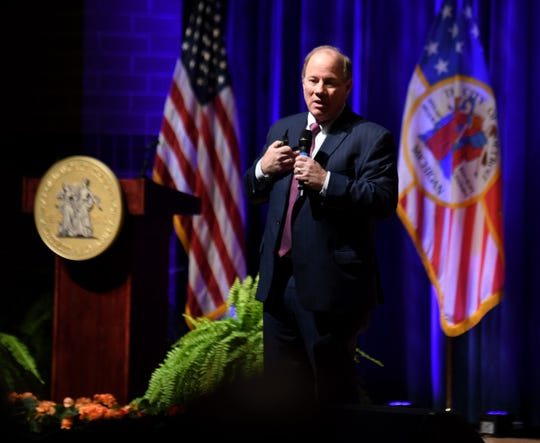 Public safety was high on Detroit Mayor Mike Duggan's list Tuesday as he delivered his sixth State of the City address