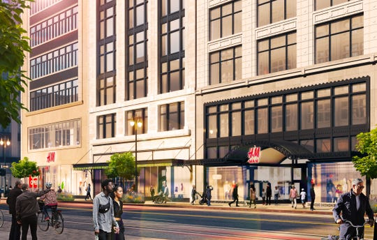 Retail expertssay the move illustrates the returning health ofdowntown Detroit and will attract more big-name stores.