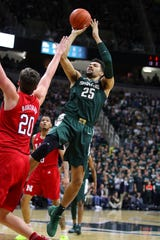 """Kenny Goins said Minnesota's victory over Purdue gave the Spartans a sort of """"rebirth."""""""