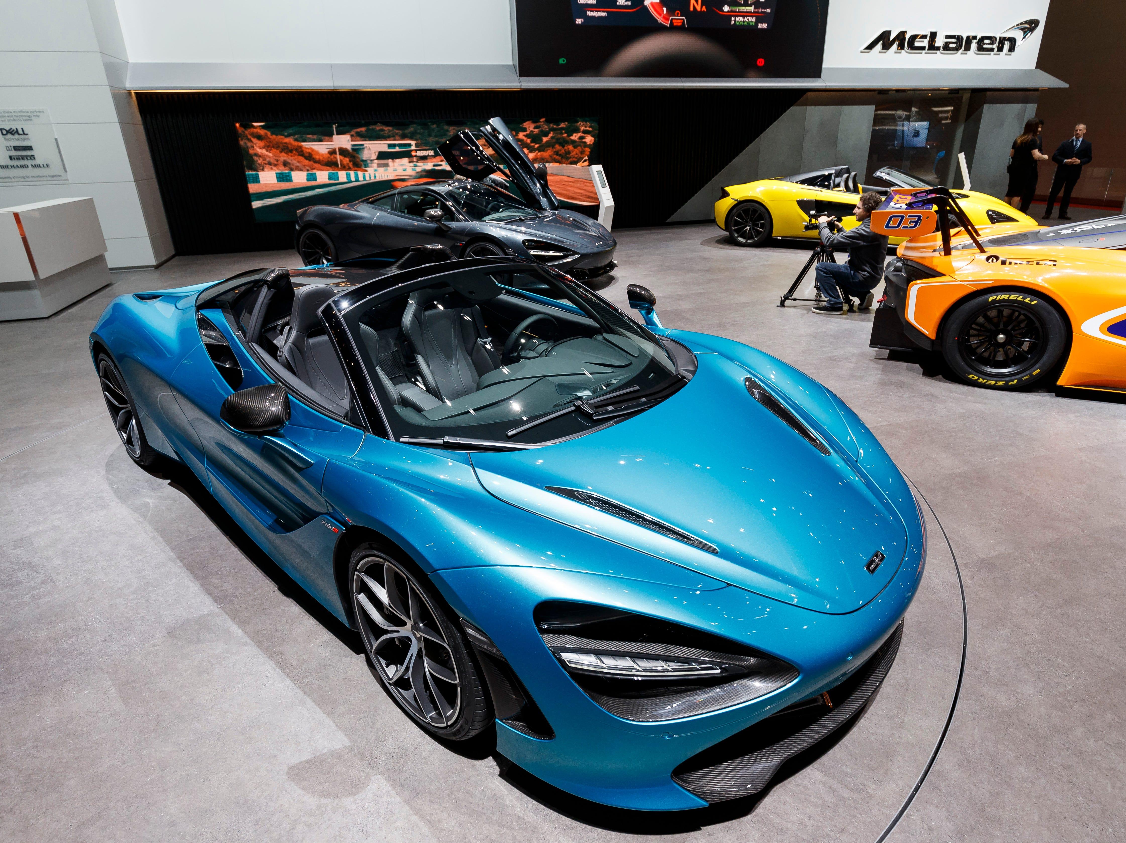 The McLaren 720s Spider