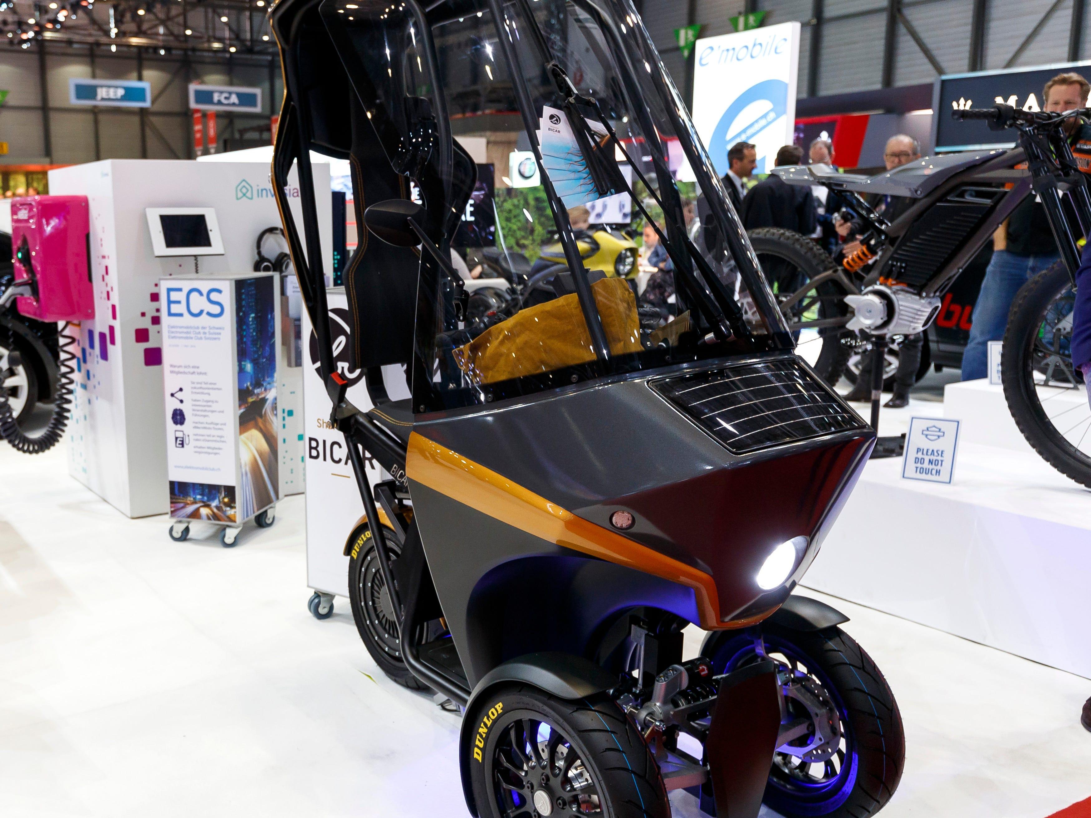 The E'Mobile Bicar