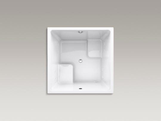 Cube tubs are often called soaking tubs, but get their name because they're usually shaped like a cube. (Kohler)