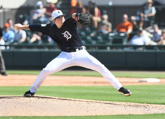 Tigers top prospect Casey Mize showed big league-ready stuff this spring.
