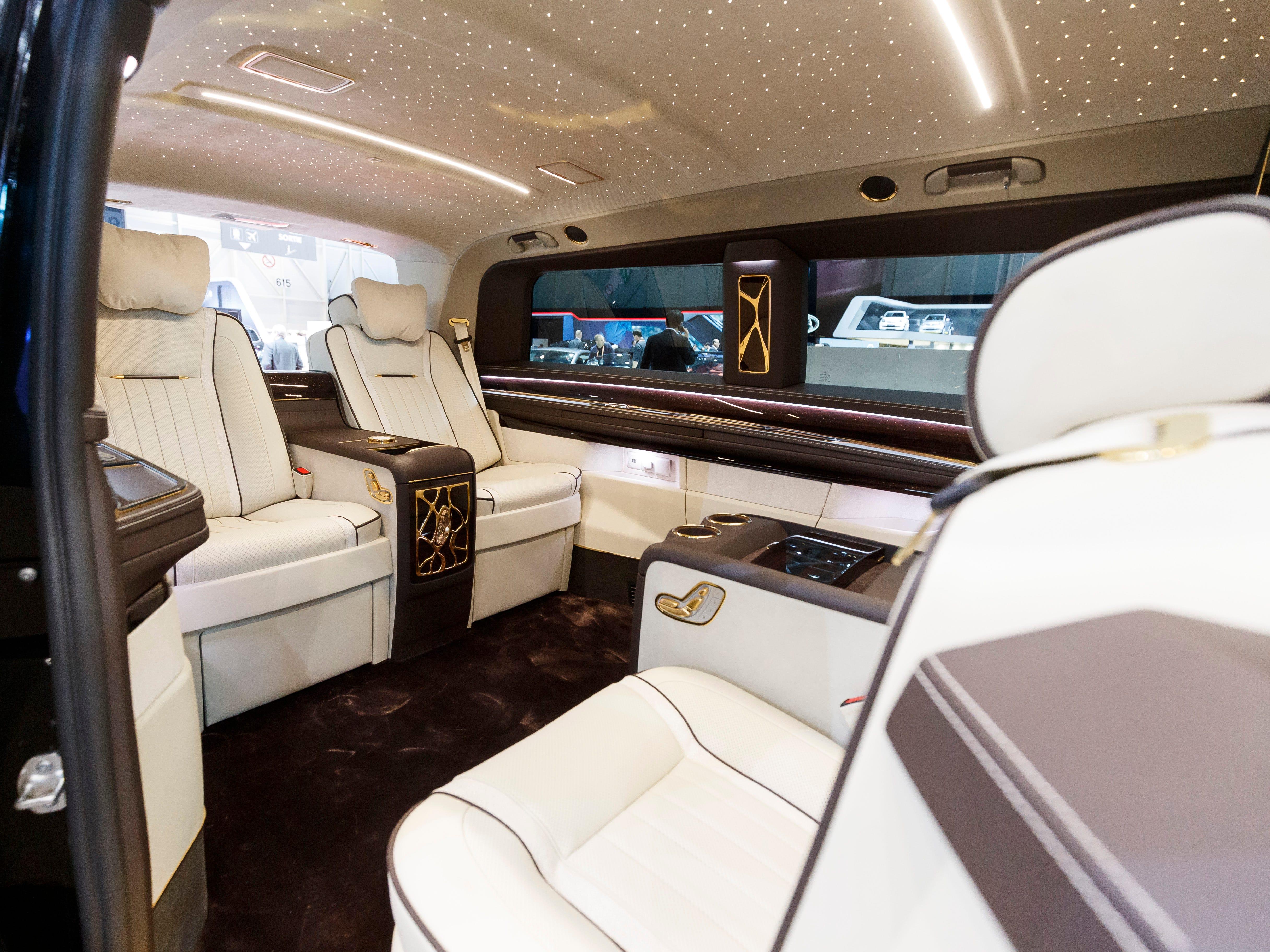 The Okcu Mercedes Benz V-Class VIP Edition
