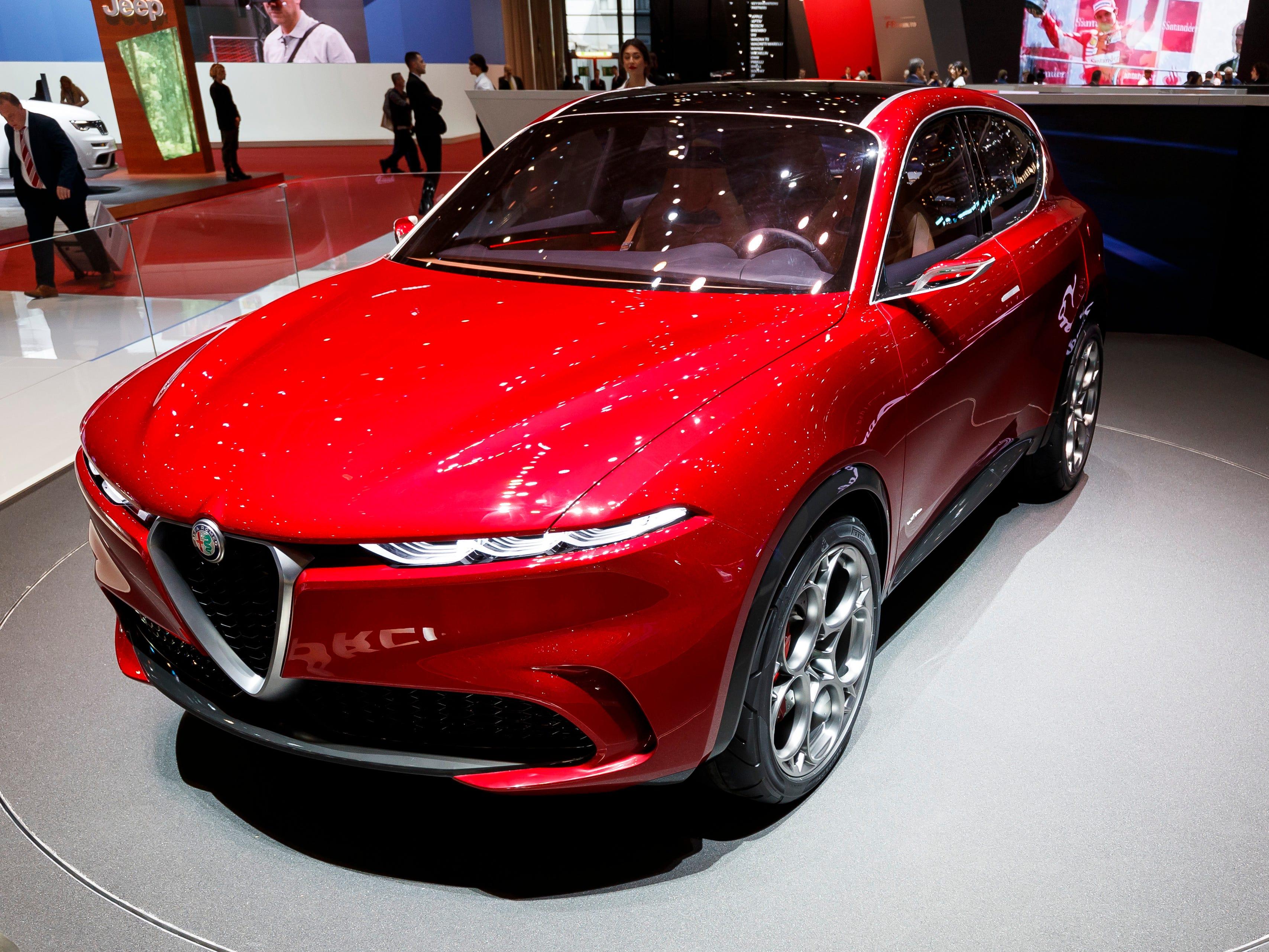 The Alfa Romeo Tonale
