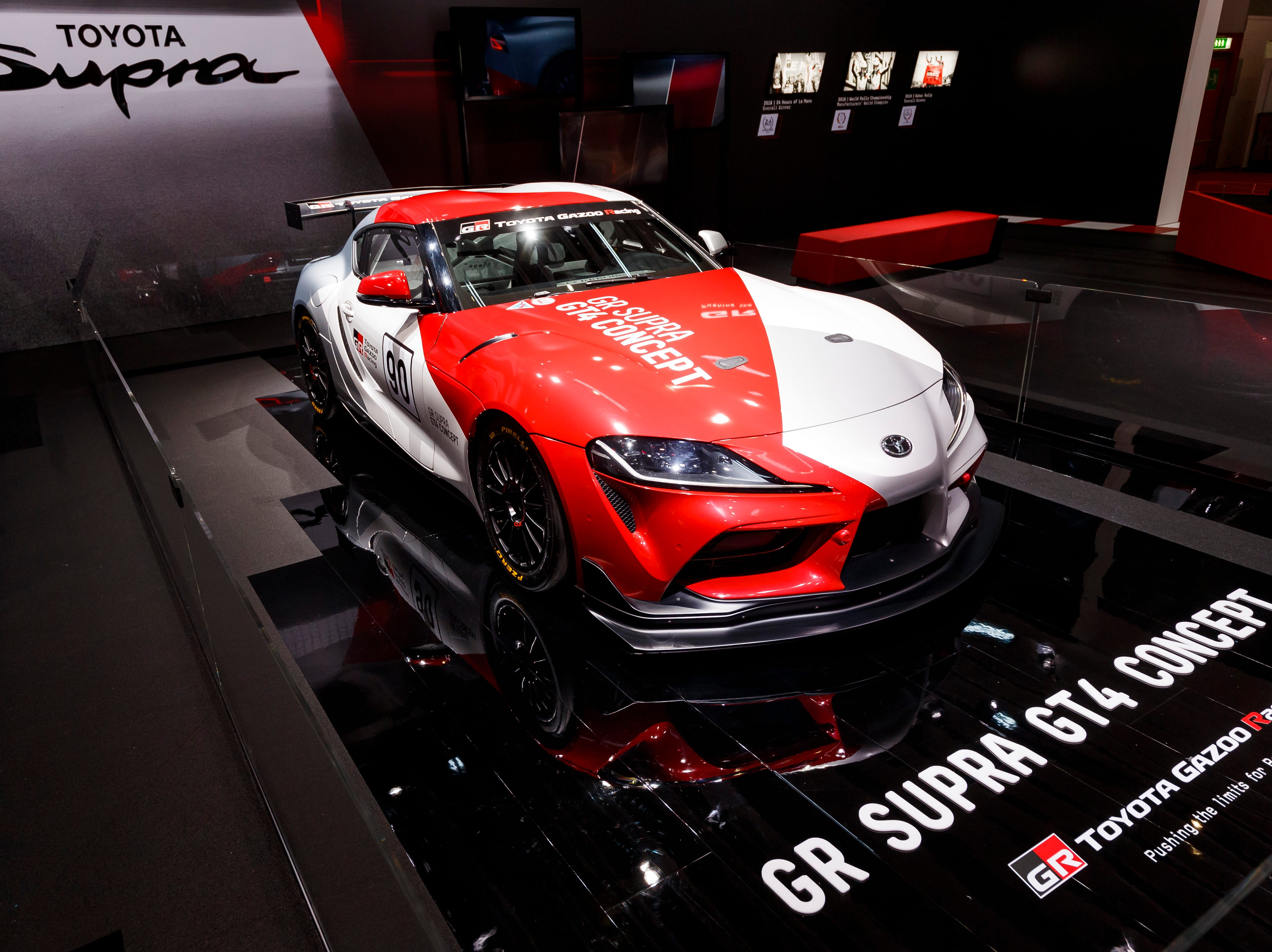 The Toyota GR Supra GT4 Concept