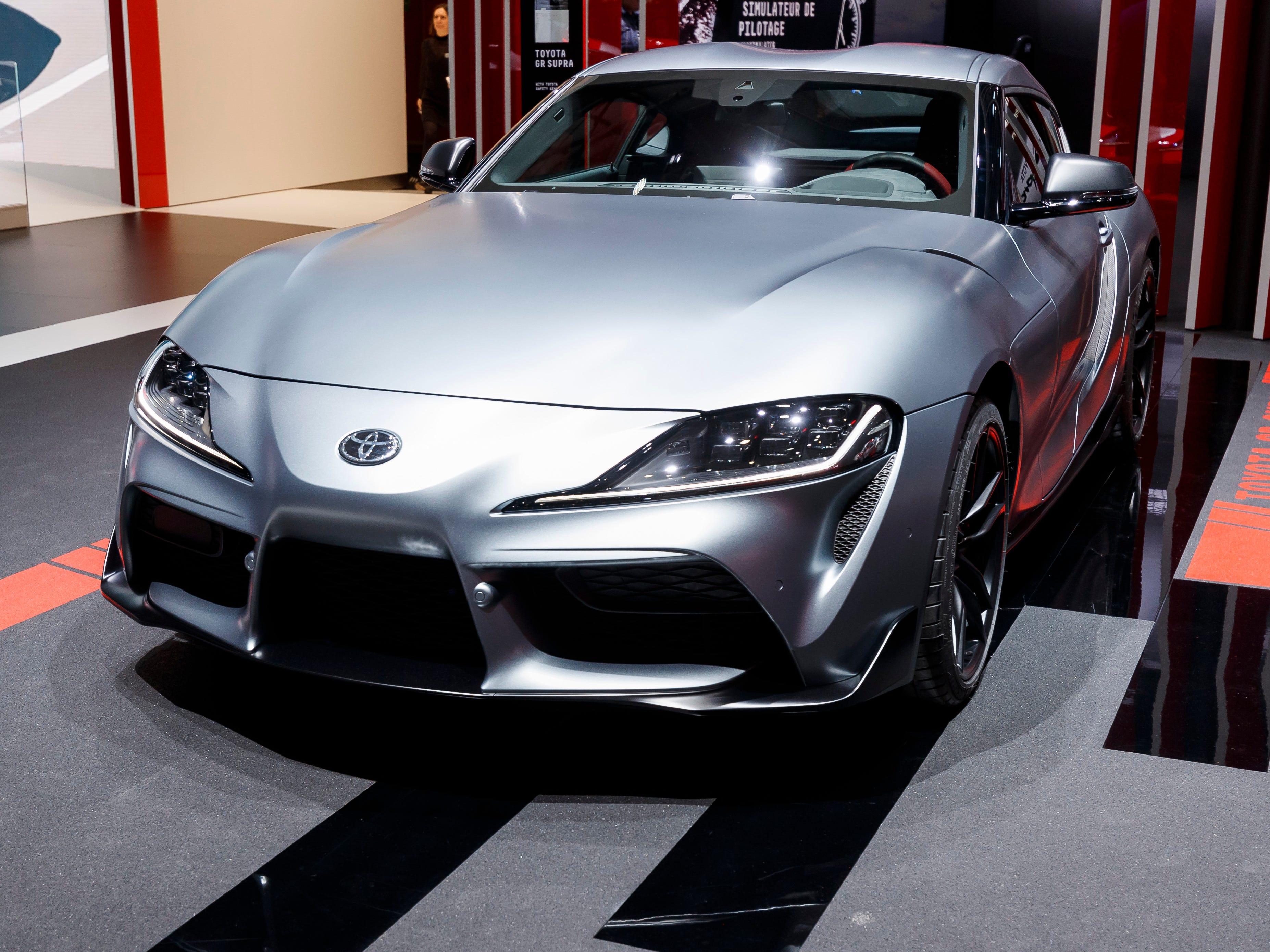 The Toyota GR Supra