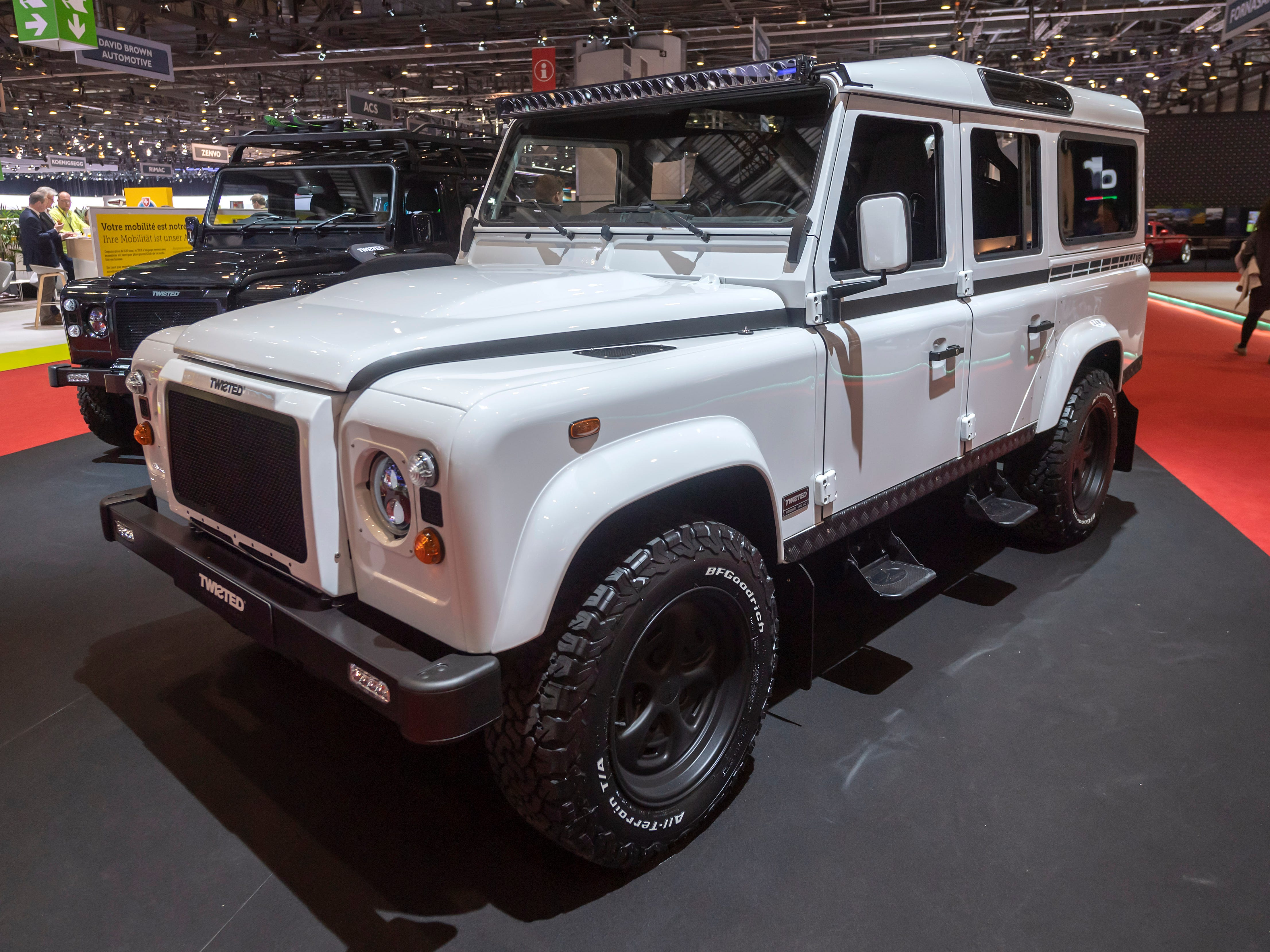 The Twisted Land Rover Defender