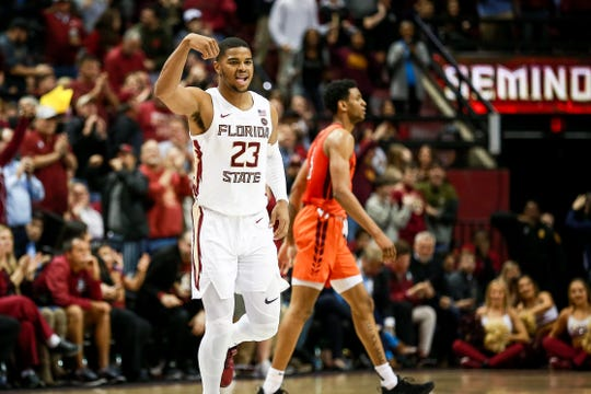 Florida State sophomore guard M.J. Walker scored 11 points during the Seminoles 73-64 win over Virginia Tech on Tuesday night at the Tucker Center.