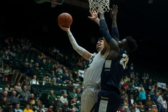 Colorado State University junior center Nico Carvacho has said he'll enter the NBA draft process, but retain his eligibility to return to CSU for his senior season.