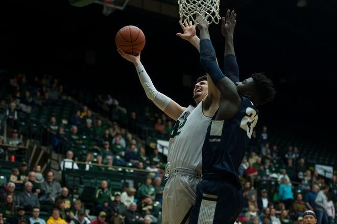 Colorado State University junior center Nico Carvacho has said he'll enter the NBA draft process, but retain his eligibility to return to CSU for his senior season.