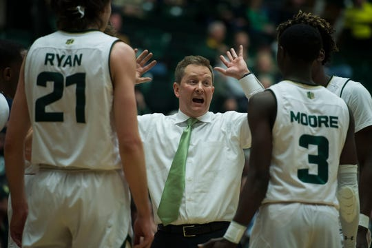 The CSU men's basketball team opens the Mountain West tournament Wednesday in Las Vegas against Boise State at noon Mountain.