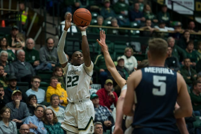 Guard J.D. Paige will play his final game at Moby Arena at 2 p.m. Saturday when the Rams face UNLV.