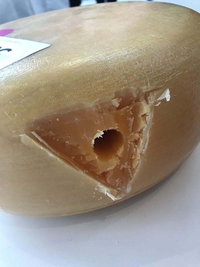 Europa, Arethusa Farm Dairy, Connecticut is a 2019 U.S. Championship Cheese Contest finalist.