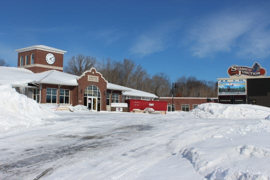 The old Suamico Junction convenience store on Sunset Beach Road is being converted into a CoVantage Credit Union branch.