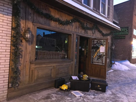 A fire at Nicky's Lionhead Restaurant in De Pere caused $50,000 in damage.