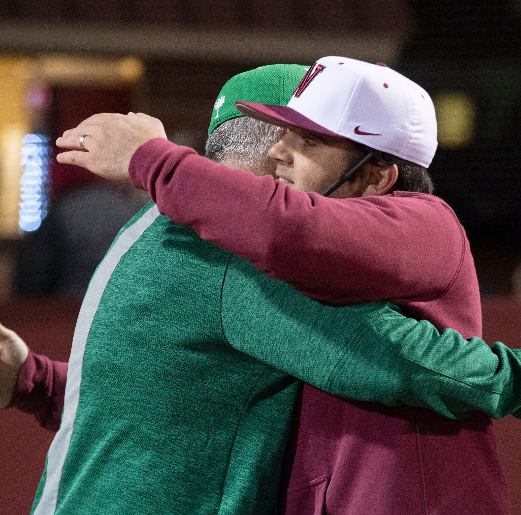 On home plate: Easley, Westside high schools meet in the ultimate father-son baseball game