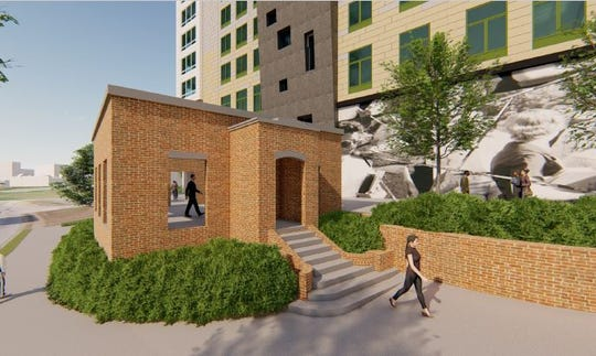 The McClaren will be a 245-unit mixed-use apartment complex at the corner of Academy and Wardlaw streets. The historic clinic will be honored.