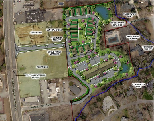 The Renaissance Place development will include affordable housing for residents 55+ as well as single family homes.