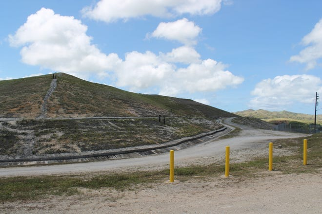 The closed Ordot dump, as pictured March 6, 2019, during a court-ordered tour of solid waste facilities.