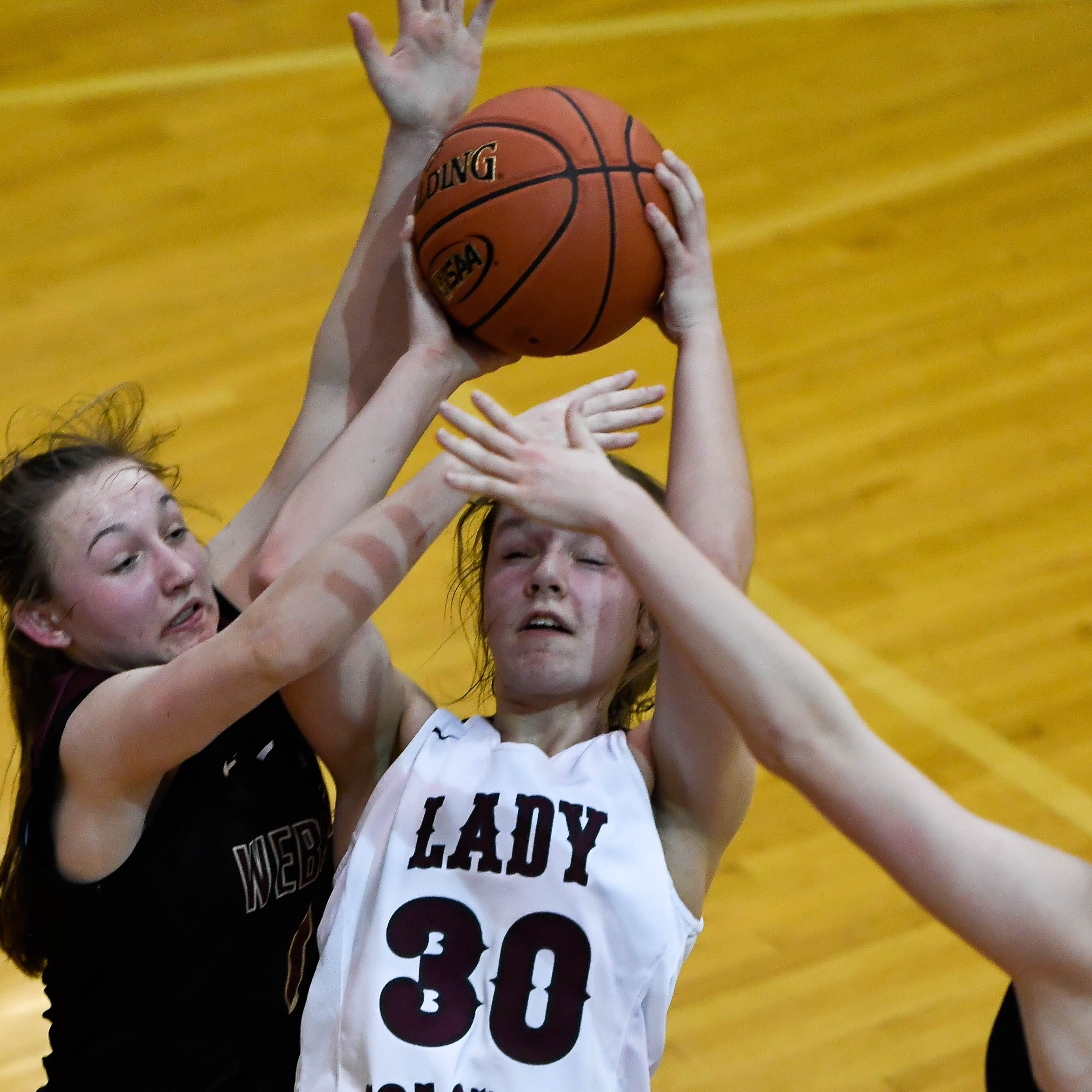 Henderson County's Emilee Hope has become more than a 3-point threat