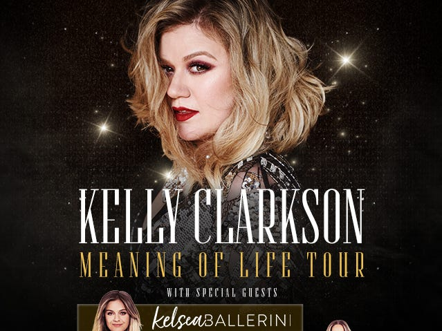Enter to win two (2) Kelly Clarkson concert tickets! 3/8-3/18