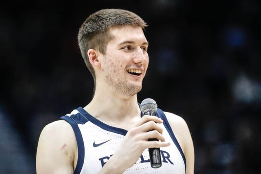 Butler forward Nate Fowler won the Big East Sportsmanship Award on Monday for his many endeavors off the court.