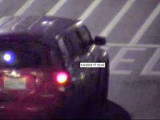 Savannah Police say this is the car the man who used counterfeit money was driving.