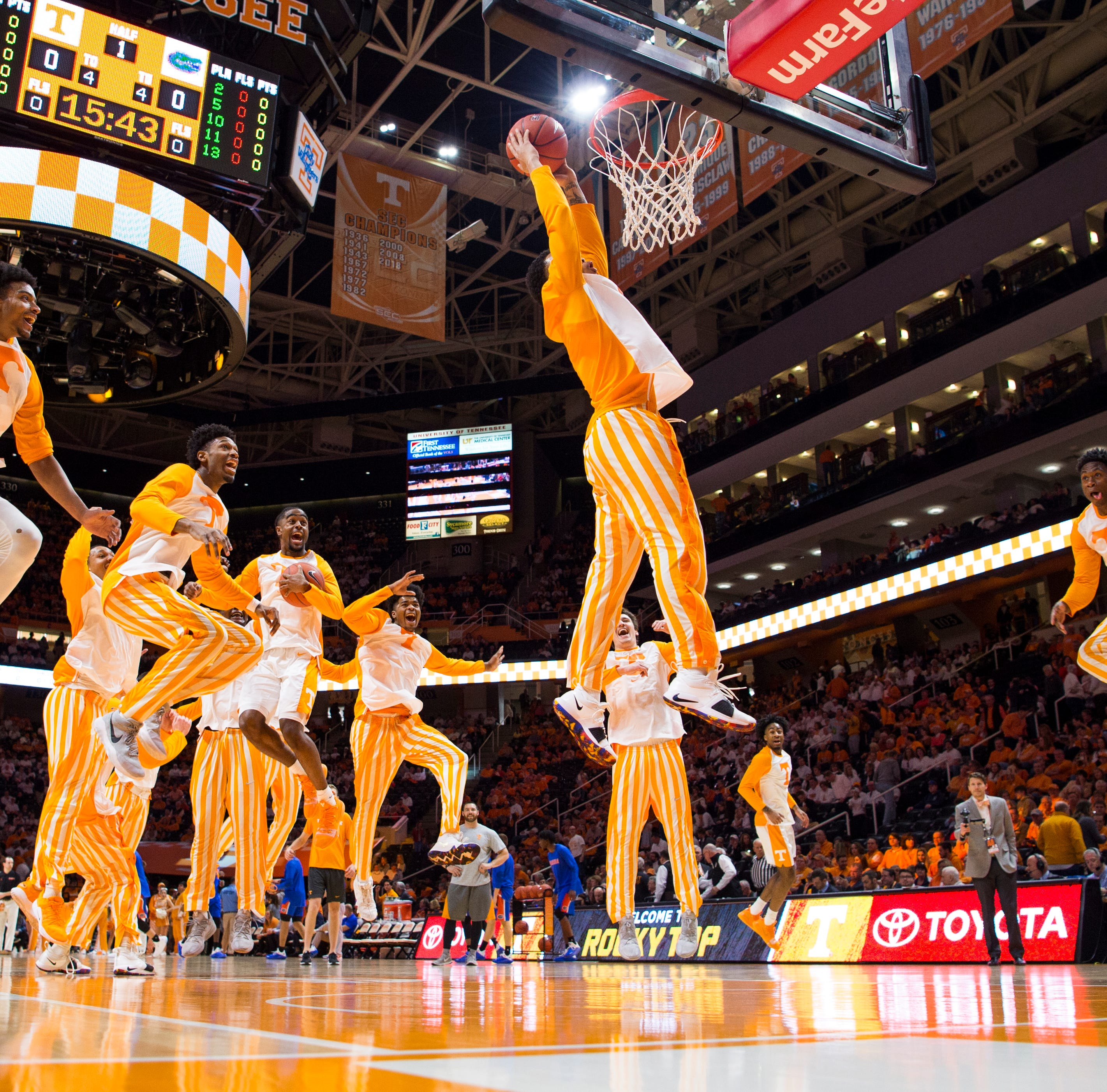 Breaking down Tennessee basketball's projected 2019-20 roster