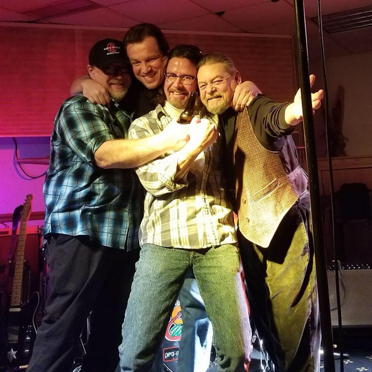Photo of Cheese Weasels, performing at Delphi Opera House March 9 (photo provided)