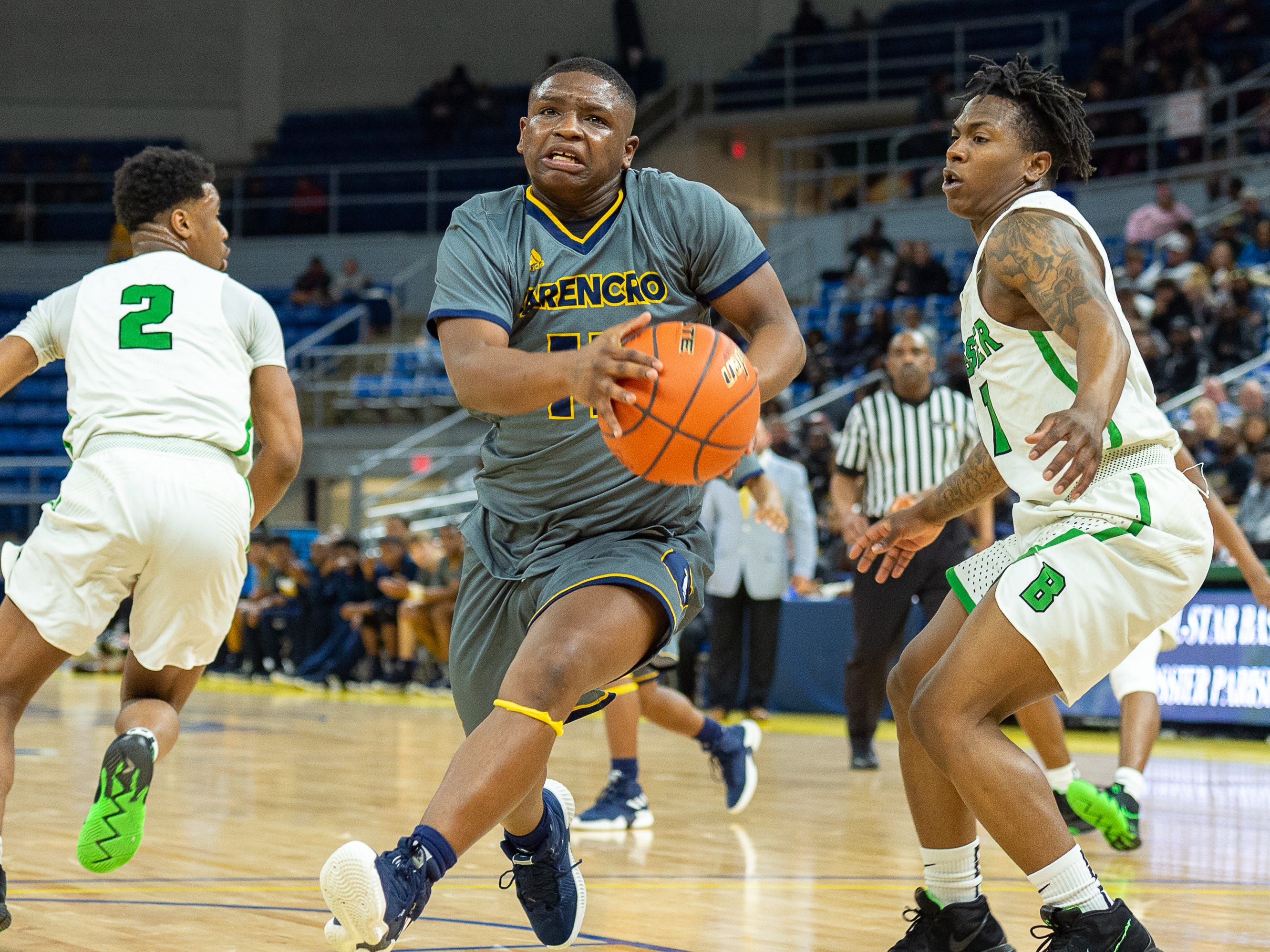 Carencro falls to Bossier in the Semi Final round of the LHSAA State Championships. Tuesday, March 5, 2019.