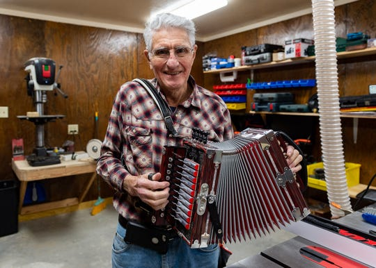 Larry Miller accordian workshop. Monday, March 4, 2019.