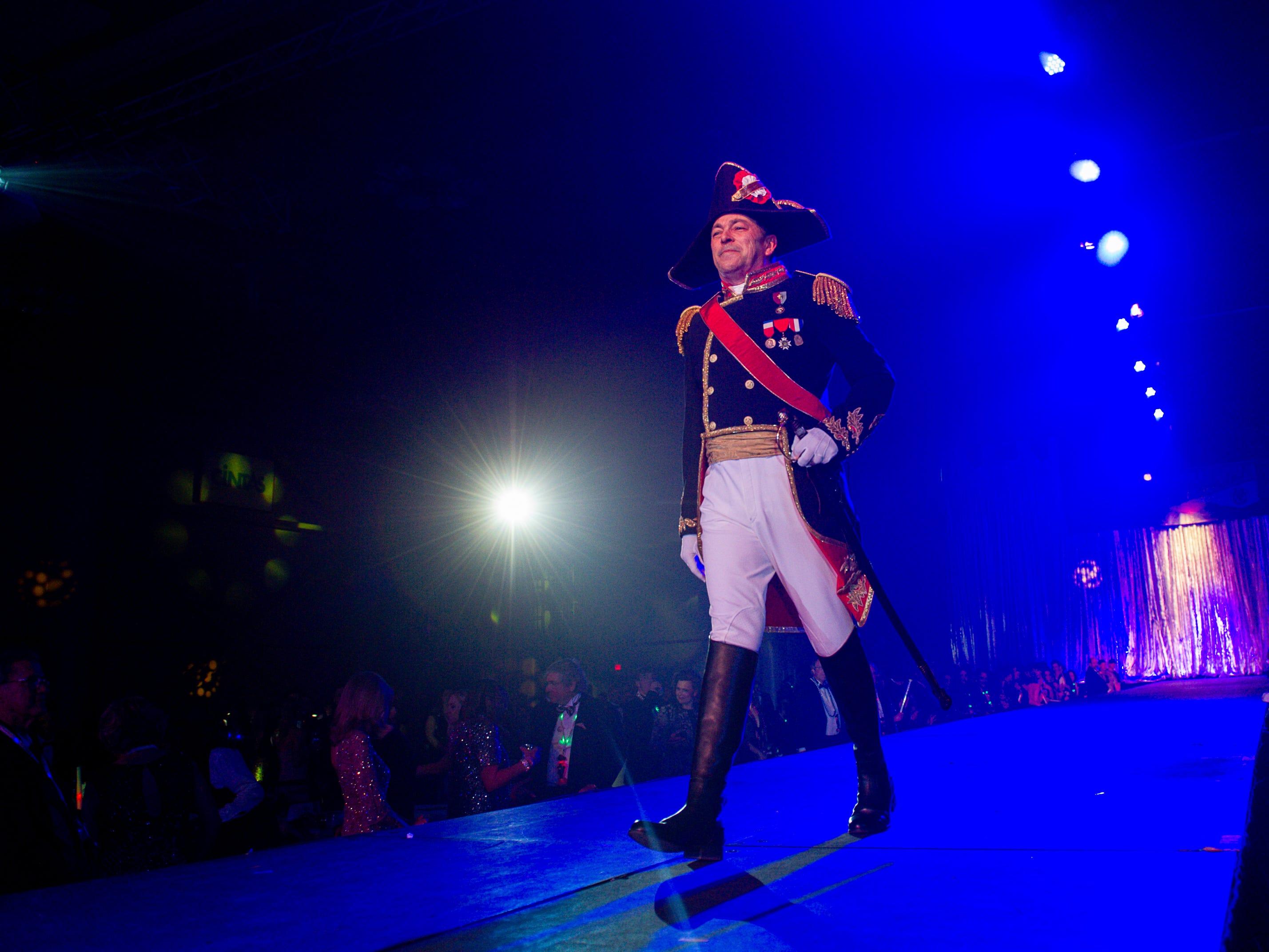 Bonaparte Mardi Gras Ball at the Cajundome Convention Center. Monday, March 4, 2019.