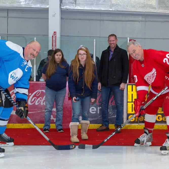 Detroit Red Wings alumni playing Saturday in Hartland