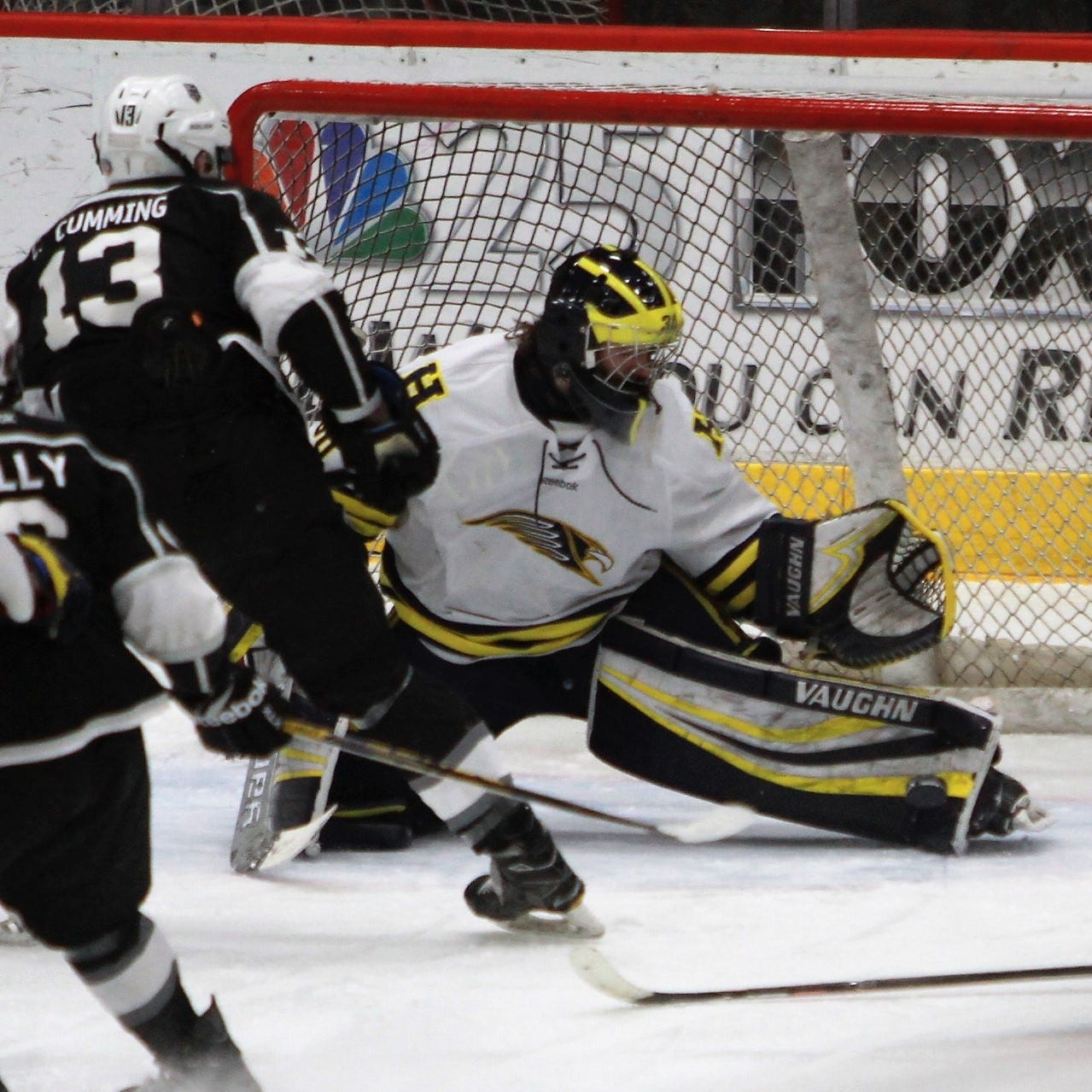 Hartland banking on goaltender after reaching another hockey semifinal