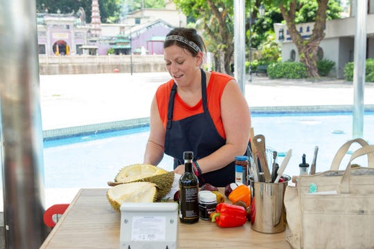 "Contestant Sara Bradley on ""The Tao of Macau,"" episode 14 of Bravo's 'Top Chef:' Kentucky season."