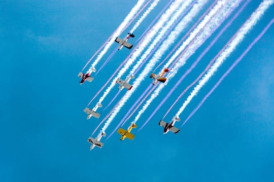 Enjoy new and classic aviation technology paired with incredible air stunts.