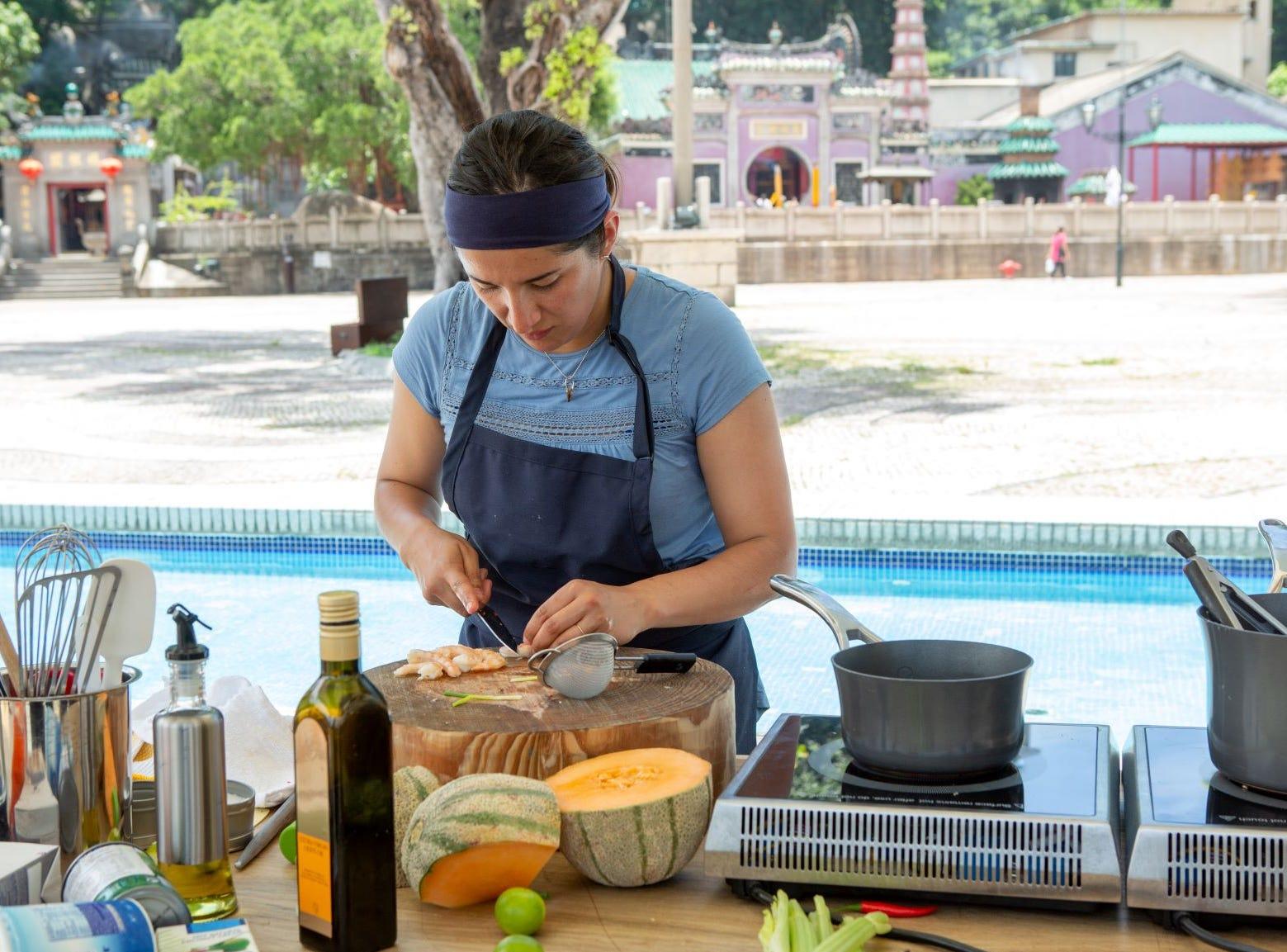 "Contestant Michelle Minori on ""The Tao of Macau,"" episode 14 of Bravo's 'Top Chef:' Kentucky season."
