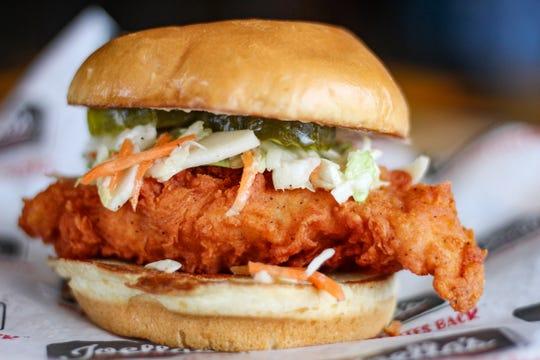 Joella's Hot Chicken will offer a fish sandwich through the Lenten season.