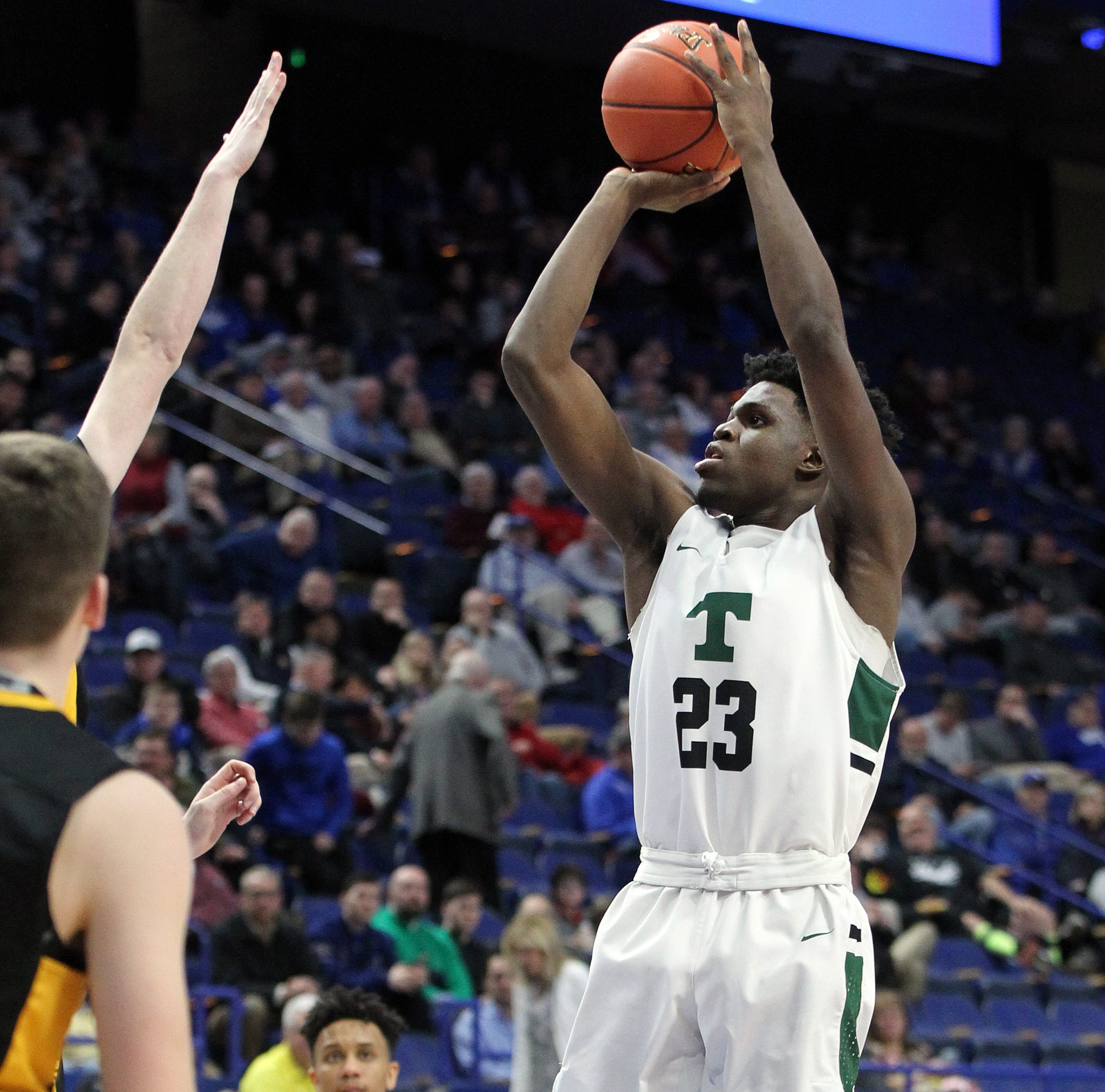 Trinity looks like a contender in Sweet 16 blowout vs. Johnson Central