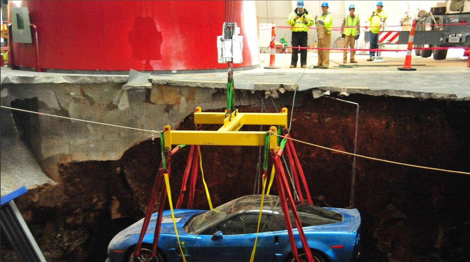 I-265 sinkhole was just the latest in the Louisville area. Here's what you should know