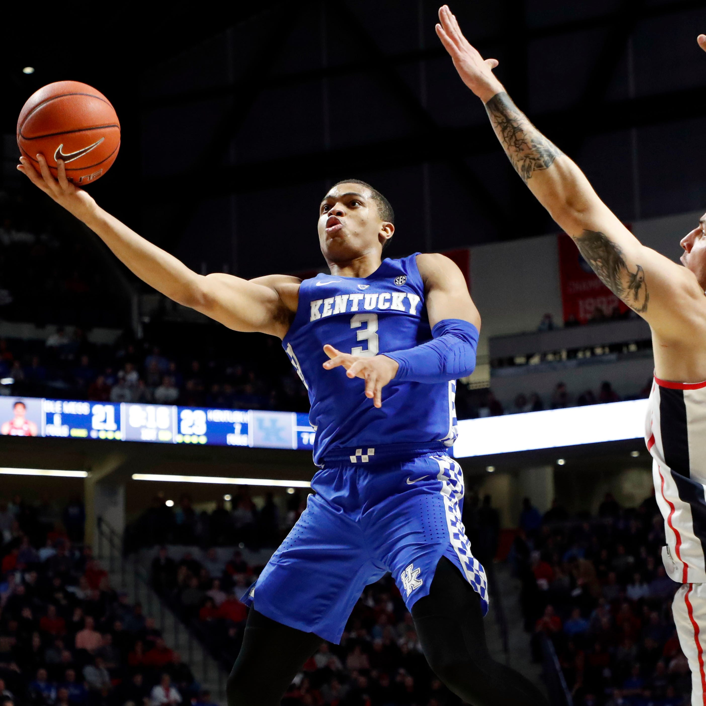 Ole Miss hoops suffers another close loss, loses on senior night versus No. 6 Kentucky