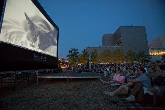 The Walker Art Center in Minneapolis, Minnesota hosts the third Internet Cat Video Festival, August 14, 2014.