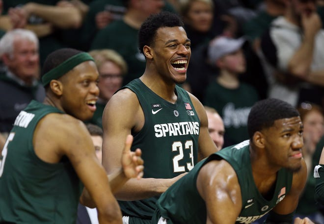 Cassius Winston, Xavier Tillman and Aaron Henry are the returning pillars for an MSU basketball program that is expected to be preseason No. 1.