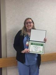 DAISY Award for Extraordinary Nurses honors Katelyn Laverty.