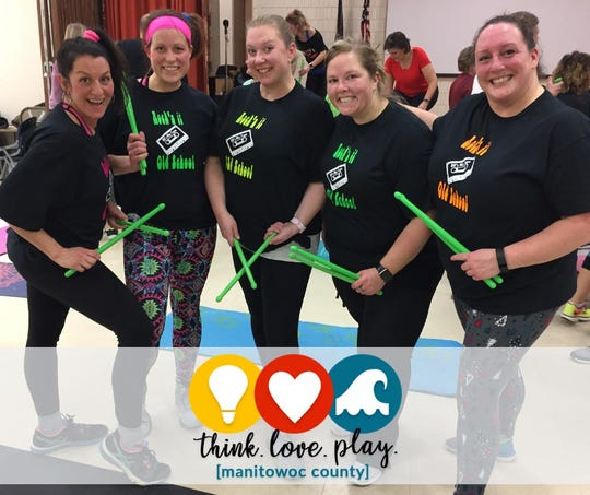 Participants in Manitowoc's HFM Lean on the Lakeshore weight-loss challenge.