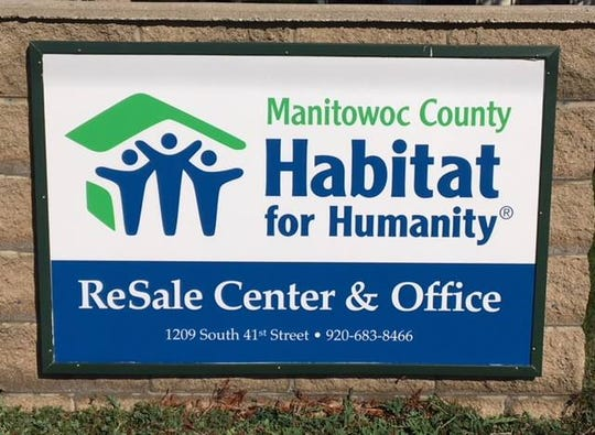 Habitate resale center sign